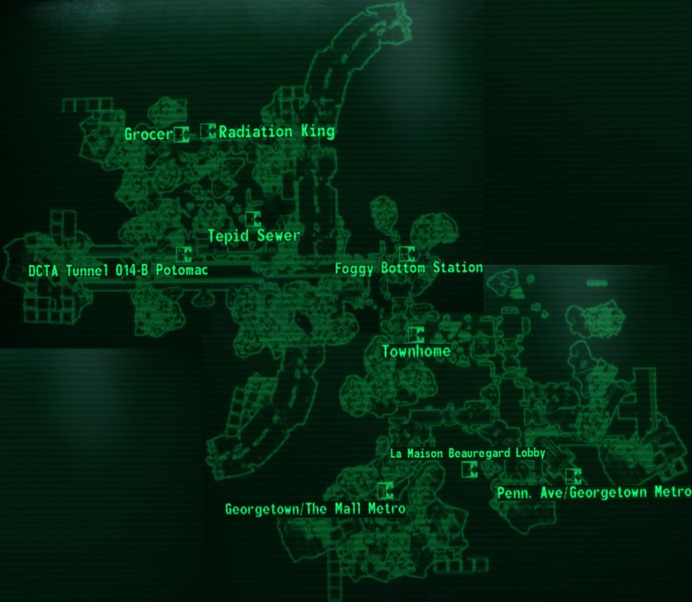 Georgetown map