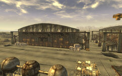 Mess hall & munitions storage