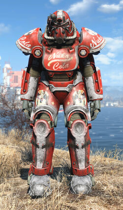 NW Nuka T-51f power armor