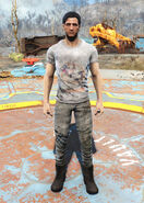 Nuka-World t-shirt male