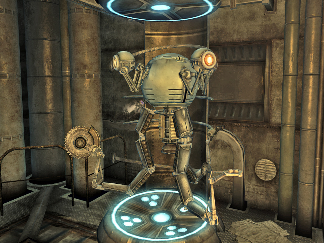 Universal robots in Fallout Shelter. How to fix Mr. Assistant