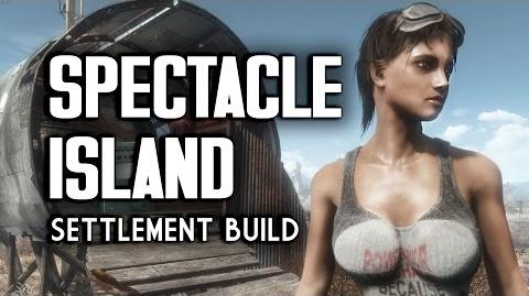 "Spectacle Island ""Lived-In"" Settlement Build - Fallout 4"
