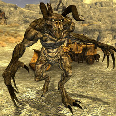 Alpha male deathclaw at <a href=
