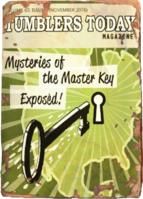 Tumblers Today - Mysteries of Master Key Exposed!
