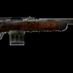 Варминт-гвинтівка з встановленим глушником.