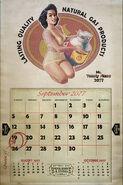 F76 Bysshe Calendar by Chris Ortega
