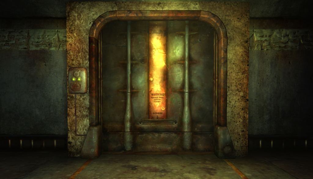 Fallout Vault Door vault door | fallout wiki | fandom poweredwikia