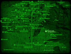 FO4 Рыбный завод «Четырехлистник» (карта мира)