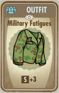 FoS Military Fatigues Card