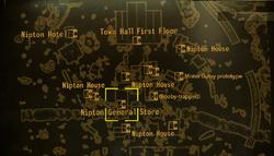 Nipton General Store local map