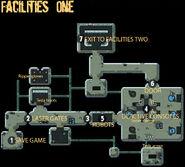 Secret Vault facilities one
