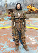 Coastal armor female
