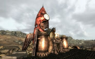 FO3 Roach King on his throne