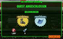 FOS - Quest - Die Red-Rocket-Enthüllung - Belohnungen