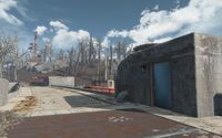 Fo4 location Boston City Works Beacon outside