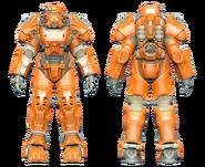 FO4CC T-60 power armor orange