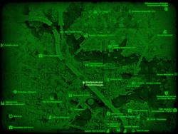 FO4 Кембриджская стройплощадка (карта мира)