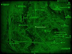 FO4 Перевалочный пункт (карта мира)