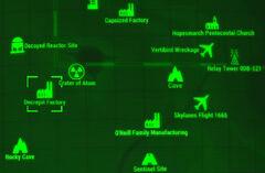 FO4 map Decrepit Factory