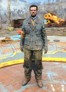 Fo4Padded Blue Jacket male