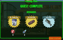 FoS Crossing Paths rewards