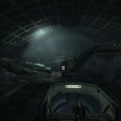 Панорама верхнього рівня станції