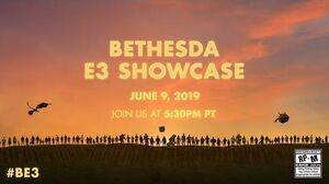 The 2019 Bethesda E3 Showcase - LIVE on June 9th @ 5 30pm PT