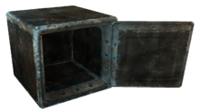 FO3 cracked safe