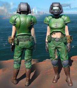 FO4CC Doom Marine armor