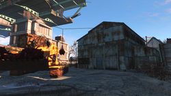 FO4 construction site warehouse