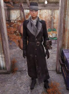 Fallout 76 Silver Shroud Costume