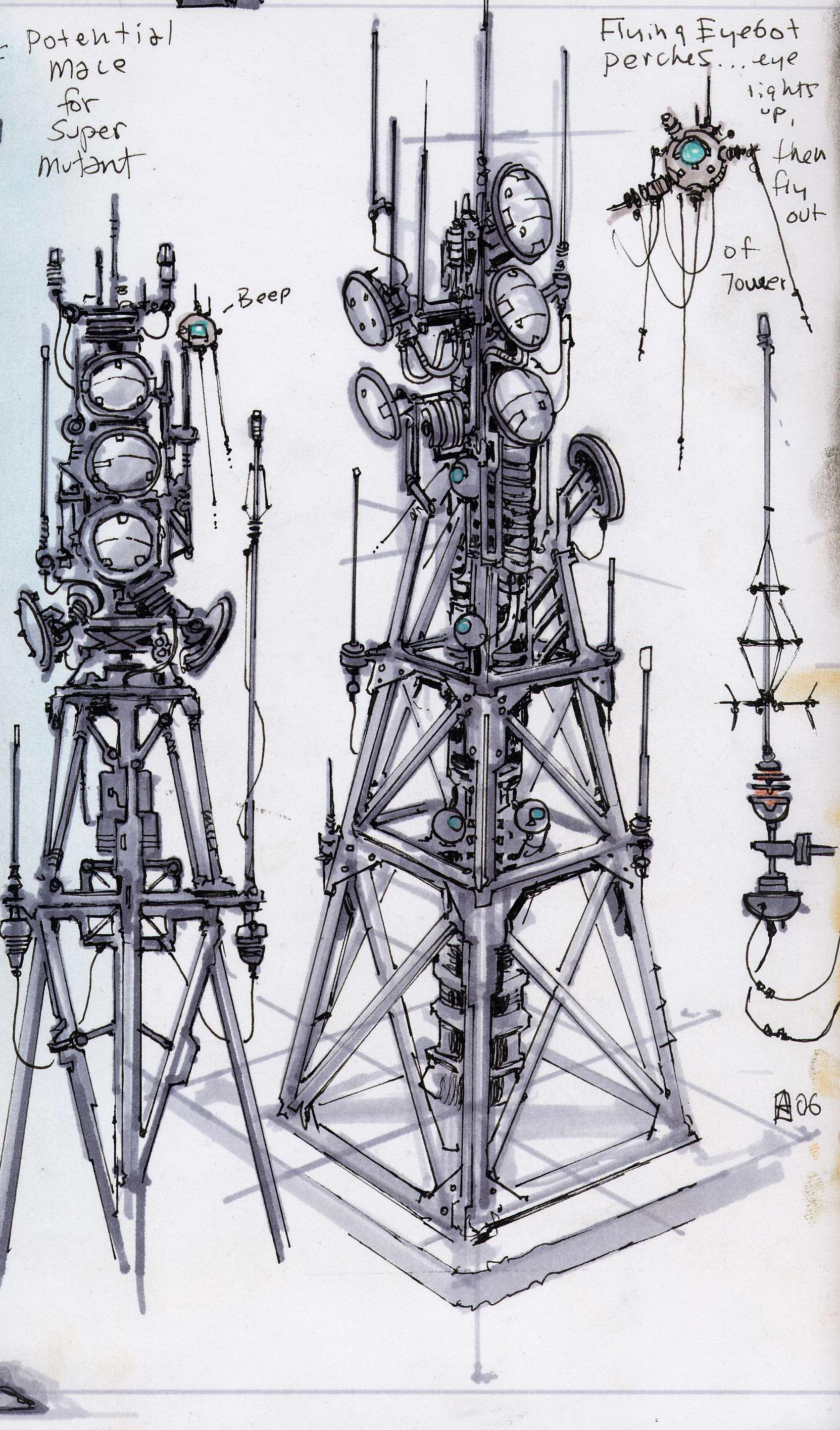 Radio Tower CA2