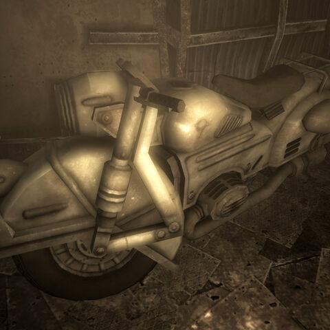 Мотоцикл на другому поверсі...