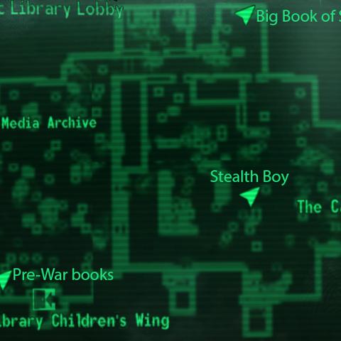 Карта холу