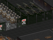 FO2 Sierra Army Depot howitzers ingame
