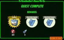 FoS To Grandmother's House We Go rewards