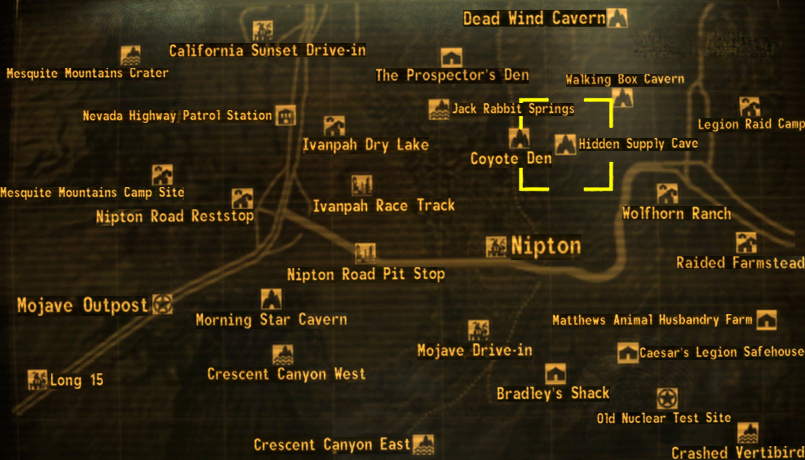 Hidden supply cave | Fallout Wiki | FANDOM powered by Wikia
