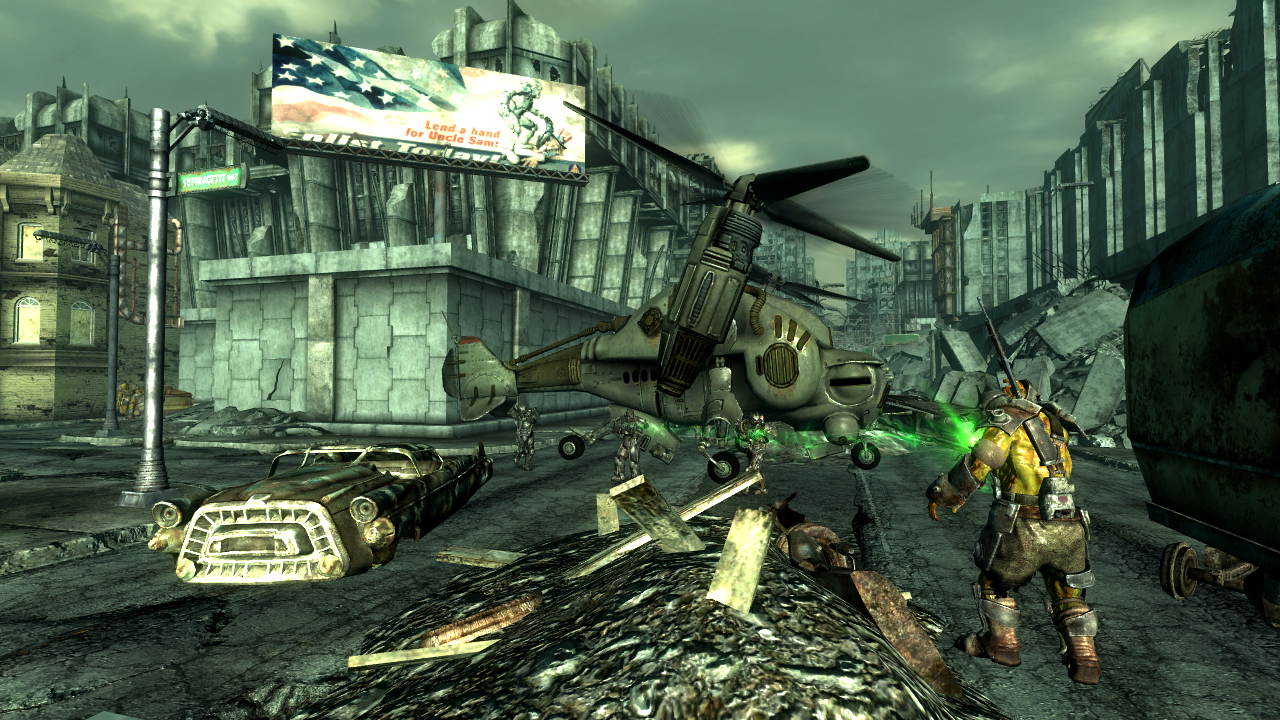 Fallout 3 Enclave outposts and camps | Fallout Wiki | FANDOM