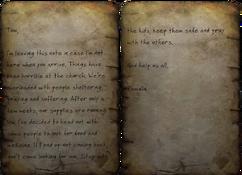 Pamela's note