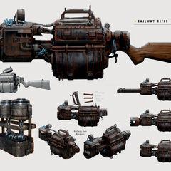Railway rifle