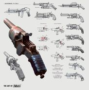 Art of Fallout 4 pipe gun
