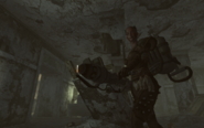 FO3 Bethesda ruins East office Raider-Boss