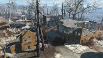 FO4 Fort Hagen (Barracks and Administration Buildings)