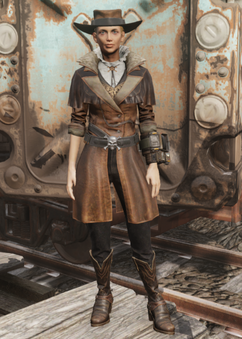 FO76 Starlet Sniper Outfit