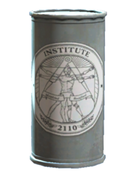 Institute bottled water