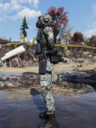 Brotherhood Special Ops Suit with Mask Left