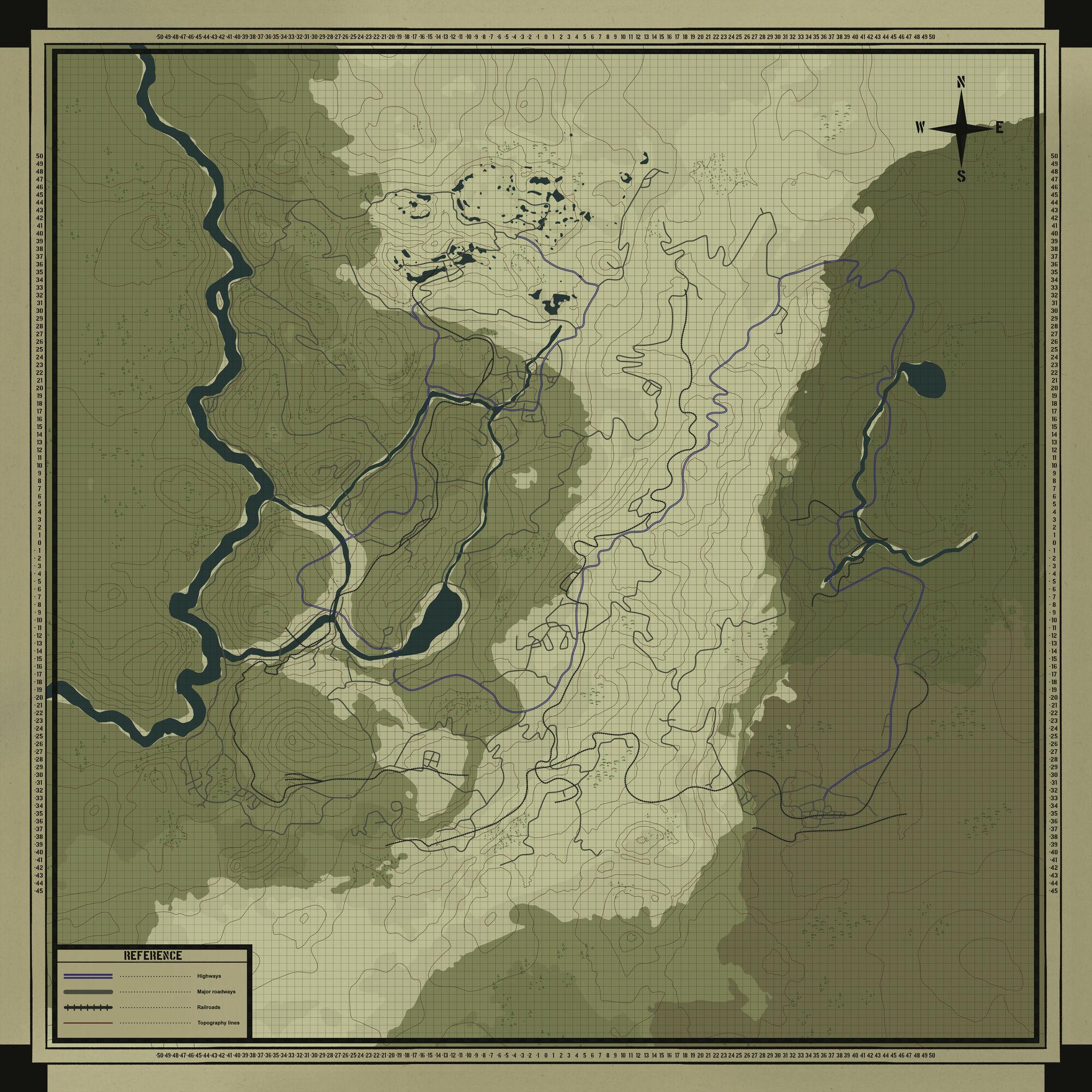 Fallout 76 Karte Deutsch.Fallout 76 Map Fallout Wiki Fandom Powered By Wikia