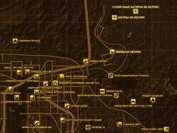 FNV Карта АВИАБАЗА НЕЛЛИС