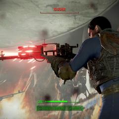 Стрільба з лазерної зброї