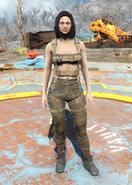 Fo4 Harness armor female